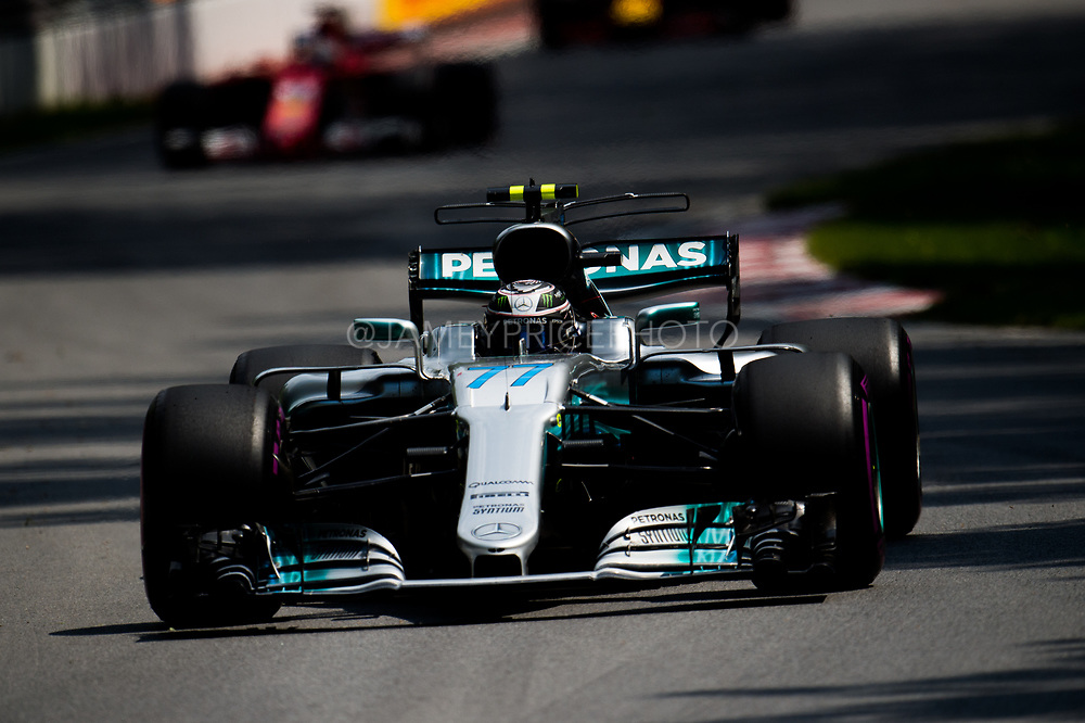 June 8-11, 2017: Canadian Grand Prix. Valtteri Bottas (FIN), Mercedes AMG Petronas Motorsport, F1 W08
