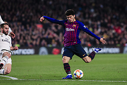 February 6, 2019 - Barcelona, Spain - 21 Alena of FC Barcelona during the semi-final first leg of Spanish King Cup / Copa del Rey football match between FC Barcelona and Real Madrid on 04 of February of 2019 at Camp Nou stadium in Barcelona, Spain  (Credit Image: © Xavier Bonilla/NurPhoto via ZUMA Press)