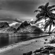Beaches of Ofu island in American Samoa, South Pacific.