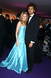 MISS AYESHA MAKIM neice of Sarah, Duchess of York and STEVE WOOD at The British Red Cross London Ball - H2O The Element of Life, held at The Room by The River, 99 Upper Ground, London SE1 on 17th November 2005.<br /><br />NON EXCLUSIVE - WORLD RIGHTS