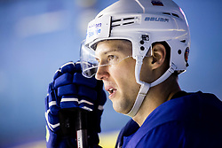 Ales Kranjc of Slovenia during practice session of Team Slovenia at the 2017 IIHF Men's World Championship, on May 8, 2017 in Accorhotels Arena in Paris, France. Photo by Vid Ponikvar / Sportida