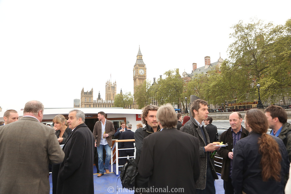 Rock The Boat at Westminster Pier, London..Wednesday, May.16, 2012 (John Marshall JME)