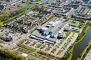 Nederland, Noord-Holland, Gemeente Purmerend, 20-04-2015; Waterland ziekenhuis, regionaal ziekenhuis in wijk De Gors.<br /> Country hospital.<br /> luchtfoto (toeslag op standard tarieven);<br /> aerial photo (additional fee required);<br /> copyright foto/photo Siebe Swart