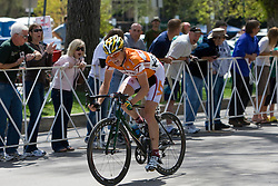 Ben King (Virginia Polytechnic University).  The 2008 USA Cycling Collegiate National Championships Road Race men's division 2 event was held near Fort Collins, CO on May 9, 2008.