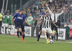 October 14, 2017 - Turin, Italy - Giorgio Chiellini during Serie A match between Juventus v Lazio, in Turin, on october 14, 2017  (Credit Image: © Loris Roselli/NurPhoto via ZUMA Press)