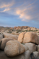 Jumbo Rocks area of Joshua Tree National Park California