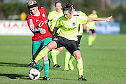 Brighton's Charley Boswell during the FA Women's Premier League match between Coventry United Ladies and Brighton Ladies at Bedford United FC, Bedford, United Kingdom on 21 February 2016. Photo by Shane Healey.