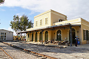 Israel, Tel Aviv, Neve Tzedek, Hatachana complex, a renovated Ottoman train station Now a popular entertainment area