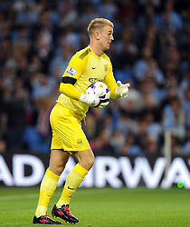 Manchester City's Joe Hart  - Photo mandatory by-line: Joe Meredith/JMP - Tel: Mobile: 07966 386802 19/08/2013 - SPORT - FOOTBALL - Etihad Stadium - Manchester - Manchester City V Newcastle United - Barclays Premier League