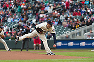 Scott Diamond #58 of the Minnesota Twins pitches during a game against the New York Mets on April 13, 2013 at Target Field in Minneapolis, Minnesota.  The Mets defeated the Twins 4 to 2.  Photo: Ben Krause