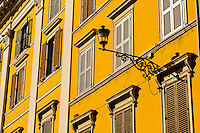Italia - Roma - Detallhe da arquitetura em Roma - Foto: Gabriel Lordello/ Mosaico Imagem