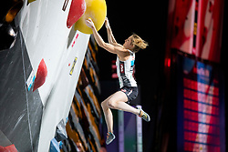 Jessica Pilz of Austria during Women's combined Final at the IFSC Climbing World Championships Innsbruck 2018, on September 16, 2018 in OlympiaWorld Innsbruck, Austria, Slovenia. Photo by Urban Urbanc / Sportida