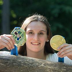 20190701: SLO, Judo, Portrait of Klara Apotekar