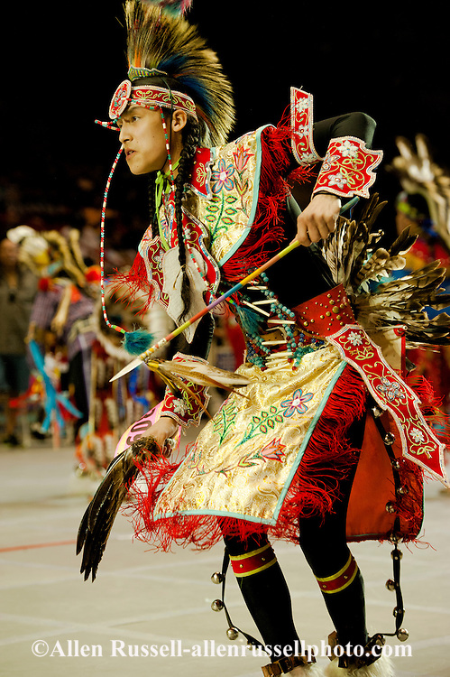 Gathering of Nations Pow Wow, Apache Traditional Dancer, Albuquerque, New Mexico
