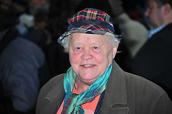 © Licensed to London News Pictures. 24/04/2012. London, England. Dudley Sutton attends the premiere of Outside Bet at Cineworld Haymarket in London England. Photo credit : ALAN ROXBOROUGH/LNP