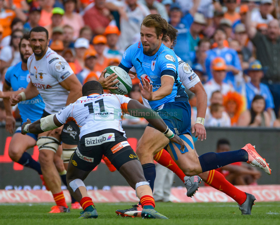 Ulrich Beyers of the Blue Bulls during the Currie Cup Final between the The Free State Cheetahs and Blue Bulls held at Toyota Stadium (Free State Stadium), Bloemfontein, South Africa on the 22nd October 2016<br /> <br /> Photo by:   Frikkie Kapp / Real Time Images