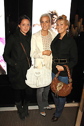 Left to right, INDIA LANGTON, LADY LOUISA COMPTON and OLIVIA BUCKINGHAM at a party to launch jeweller Boodles new store at 178 New Bond Street, London W1 on 26th September 2007.<br /><br />NON EXCLUSIVE - WORLD RIGHTS