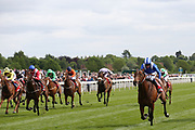 AFAAK (6) ridden by jockey Jim Crowley and trained by Charles Hills winning The Betfred TV Hambleton Handicap Stakes over 1m (£50,000) atat the York Dante Meeting at York Racecourse, York, United Kingdom on 17 May 2018. Picture by Mick Atkins.