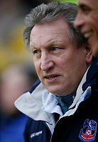 Photo: Steve Bond/Richard Lane Photography. Leicester City v Crystal Palace. E.ON FA Cup Third Round. 03/01/2009. Neil Warnock on the touchline