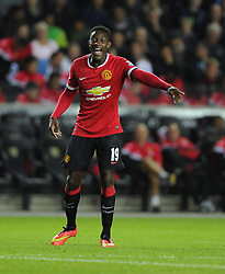 Manchester United's Danny Welbeck - Photo mandatory by-line: Joe Meredith/JMP - Mobile: 07966 386802 26/08/2014 - SPORT - FOOTBALL - Milton Keynes - Stadium MK - Milton Keynes Dons v Manchester United - Capital One Cup