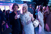 JAY KAY; JO WOOD, 2009 Serpentine Gallery Summer party. Sponsored by Canvas TV. Serpentine Gallery Pavilion designed by Kazuyo Sejima and Ryue Nishizawa of SANAA. Kensington Gdns. London. 9 July 2009.