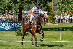 JUNG Michael (GER), fischerChipmunk FRH<br /> Luhmühlen - LONGINES FEI Eventing European Championships 2019<br /> Impressionen Zieleinlauf<br /> Geländeritt CCI 4*<br /> Cross country CH-EU-CCI4*-L<br /> 31. August 2019<br /> © www.sportfotos-lafrentz.de/Tanja Becker