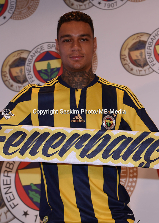 Fenerbahce's new Dutch Player Gregory van der Wiel has signed a new contract for 4 years with Fenerbahce Soccer Club on July 04, 2016