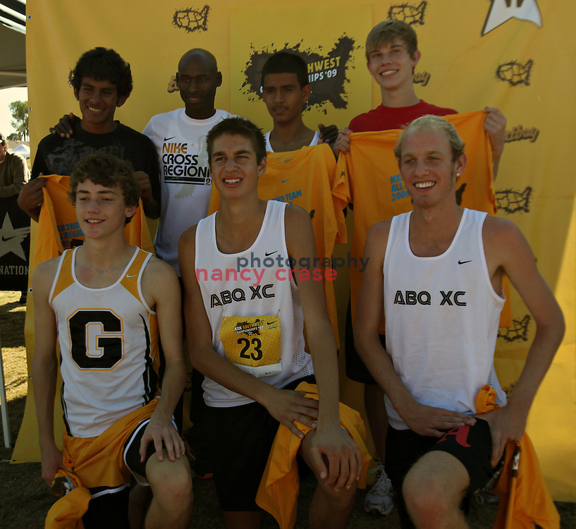 Nike NXN Southwest Region Championships at Kiwanis Park in Tempe, AZ, on November 21, 2009.
