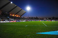 Vue generale Stade de Bondoufle  - 09.04.2015 - France / Canada - Match Amical <br /> Photo : Anthony Dibon / Icon Sport