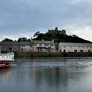 St Michael's Mount from the mounts harbour.<br />