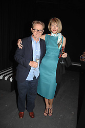 Photographer  JOHN SWANNELL and his wife MARIANNE at the Roundhouse Rock and Roll Circus - an evening to raise funds for the Roundhouse's continued delivery of projects and facilities for young people, held at The Roundhouse, Chalf Farm Road, London on 12th June 2008.<br />