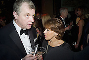 RICHARD CLEMMOW AND LORRAINE HEGGARTY, Cartier Dinner to celebrate the re-opening of the Cartier U.K. flagship store, New Bond St. Natural History Museum. 17 October 2007. -DO NOT ARCHIVE-© Copyright Photograph by Dafydd Jones. 248 Clapham Rd. London SW9 0PZ. Tel 0207 820 0771. www.dafjones.com.