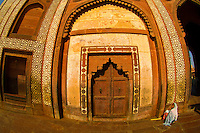 Buland Darwaza (Buland Gate), also known as the Gate of Magnificence, Jama Masjid Mosque, Fatehpur Sikri, Uttar Pradesh, India