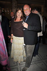 JAMES & MELINDA WHALE at a private view of a new collection of bronzes and original paintings by artist Jonathan Wylder and his muse Jennifer Wade held at the V&A Museum, London on 27th April 2011.
