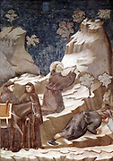 Giotto di Bondone  Fresco cycle on the life of St. Francis of Assisi, 1296-98