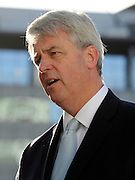 © Licensed to London News Pictures. 04/10/2011. MANCHESTER. UK. Andrew Lansley CBE MP, Secretary of State for Health, at The Conservative Party Conference at Manchester Central today, October 4, 2011. Photo credit:  Stephen Simpson/LNP