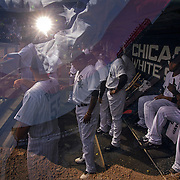 &quot;Taking the Field.&quot; White Sox opening day on Monday, March 31, 2014 at U.S. Cellular Field. Made with three exposures in camera. (Brian Cassella/Chicago Tribune) B583640404Z.1 <br /> ....OUTSIDE TRIBUNE CO.- NO MAGS,  NO SALES, NO INTERNET, NO TV, CHICAGO OUT, NO DIGITAL MANIPULATION...