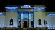 19 November 2013: Christmas lights, Hull, East Yorkshire.<br /> Ferens Art Gallery.<br /> Picture: Sean Spencer/Hull News &amp; Pictures Ltd<br /> 01482 772651/07976 433960<br /> www.hullnews.co.uk   sean@hullnews.co.uk