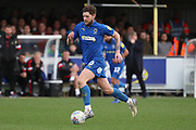 AFC Wimbledon midfielder Anthony Wordsworth (40) during the EFL Sky Bet League 1 match between AFC Wimbledon and Doncaster Rovers at the Cherry Red Records Stadium, Kingston, England on 9 March 2019.