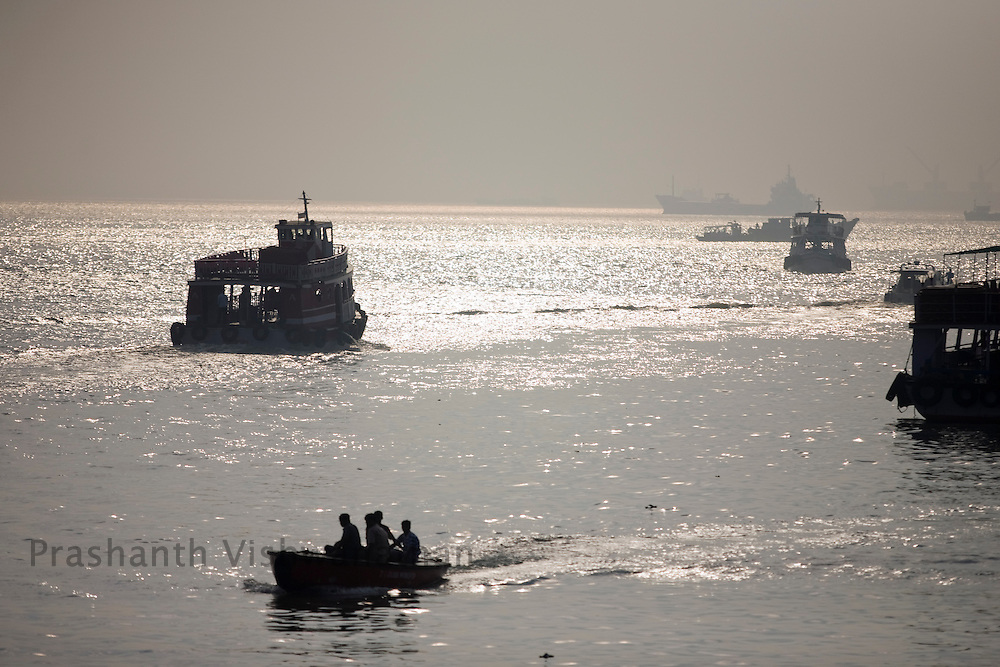 A general view of the waterfront in Mumbai, on Tuesday, Dec. 16, 2008.  Photographer:Prashanth Vishwanathan