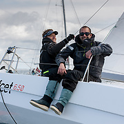 Départ de La Lorient BSM 2015 en classe mini