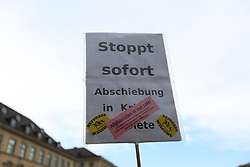 May 30, 2017 - Munich, Bayern, Germany - Activists gathered in Munich to hold a small protest against deportation especially into Afghanistan. (Credit Image: © Alexander Pohl/Pacific Press via ZUMA Wire)