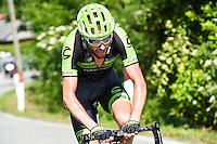 Ryder Hesjedal - Cannondale Garmin - 28.05.2015 - Tour d'Italie - Etape 18 : Melide / Verbania <br />Photo : Pool / Sirotti / Icon Sport
