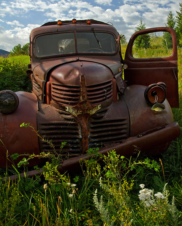 This old Dodge was finally put out to pasture at Red Rock Lakes National Wildlife Refuge in Lakeview, Montana.