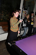 "Camilla Rutherford. Official Pre-Brit Awards 2005 Pool Tournament"" at The Sanderson Hotel February 8, 2005 in London. The party is hosted by Esquire Magazine ONE TIME USE ONLY - DO NOT ARCHIVE  © Copyright Photograph by Dafydd Jones 66 Stockwell Park Rd. London SW9 0DA Tel 020 7733 0108 www.dafjones.com"