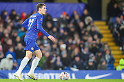 Chelsea defender Andreas Christensen (27) during the The FA Cup fourth round match between Chelsea and Sheffield Wednesday at Stamford Bridge, London, England on 27 January 2019.