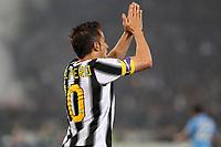 Alessandro Del Piero Juventus<br /> Roma 20/05/2012 Stadio Olimpico<br /> Football Calcio 2011/2012 Tim Cup<br /> Finale Final<br /> Juventus vs Napoli<br /> Foto Insidefoto Paolo Nucci