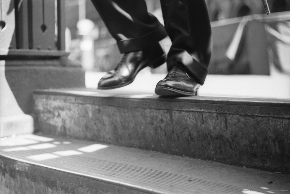 Underground, Feet, London, 1937