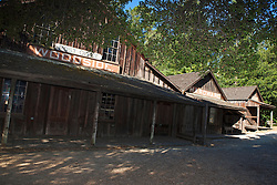Exterior view of the historic Woodside Store, Woodside, California, United States of America