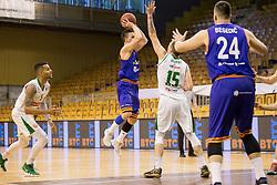 Jure Pelko of KK Helios Suns during basketball match between KK Petrol Olimpija and KK Helios Suns in Playoffs of Liga Nova KBM 2017/18, on April 25, 2018 in Tivoli sports hall, Ljubljana, Slovenia. Photo by Urban Urbanc / Sportida